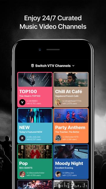 Trending Music Player VIBBIDI screenshot 2