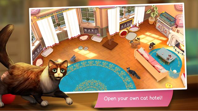 CatHotel - Care for cute cats screenshot 2