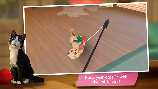 CatHotel - Care for cute cats screenshot 5