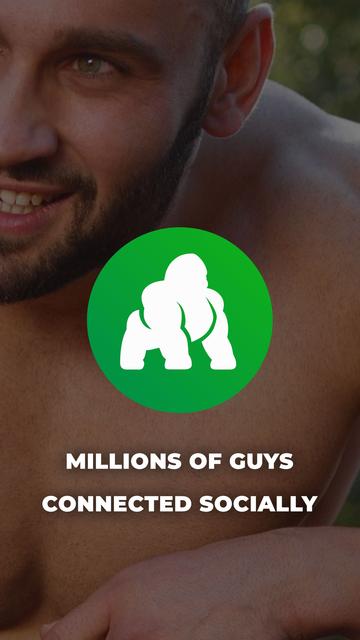 Fit Gorillas - Fun Gay Social screenshot 6