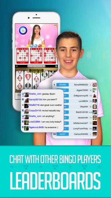 KID BINGO - Live Kid Bingo & Slots! screenshot 2