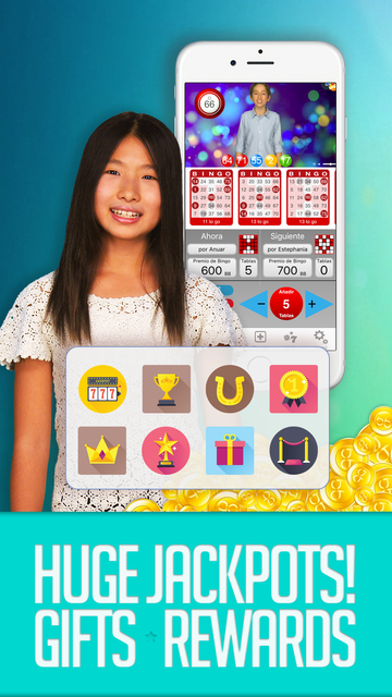 KID BINGO - Live Kid Bingo & Slots! screenshot 4